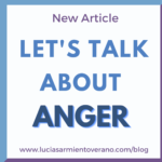 Dealing with anger issues